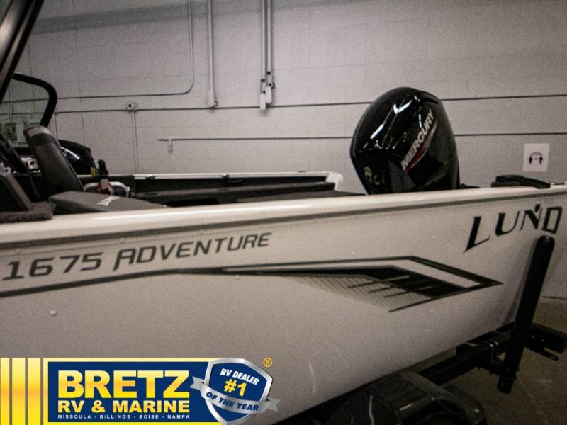 2021 Lund boat for sale, model of the boat is Adventure 1675 Sport & Image # 13 of 19