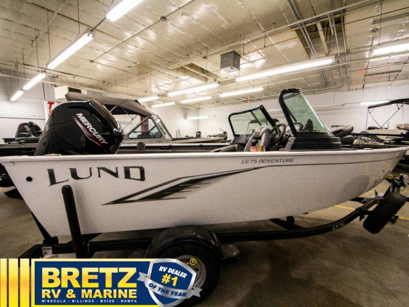 2021 Lund boat for sale, model of the boat is Adventure 1675 Sport & Image # 15 of 19