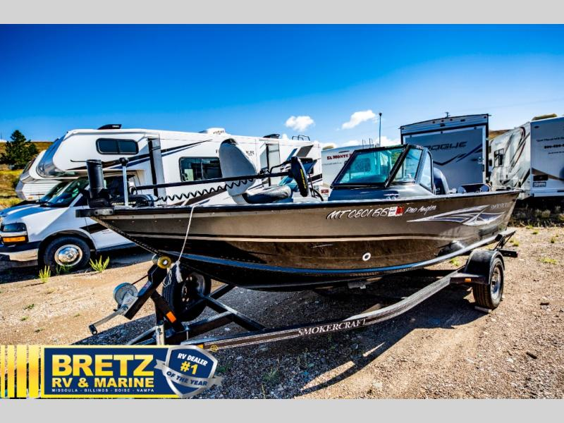 2013 Smoker Craft boat for sale, model of the boat is Pro Angler 172 & Image # 4 of 15