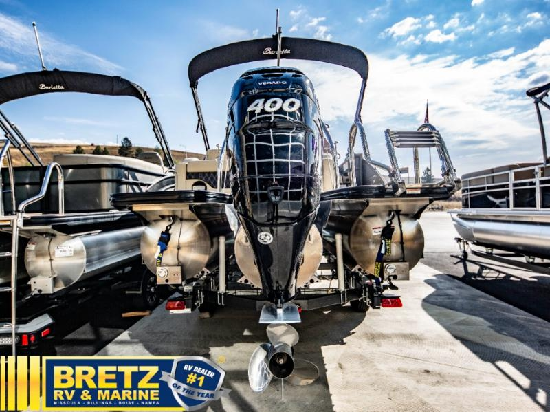 2021 Barletta boat for sale, model of the boat is L-Class L25UC Triple-Tube & Image # 4 of 18