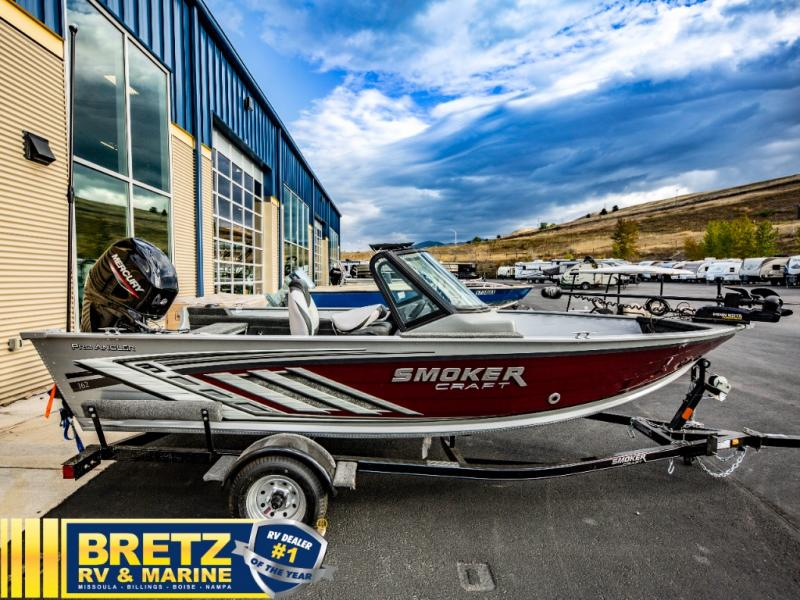 2022 Smoker Craft boat for sale, model of the boat is Pro Angler 162 & Image # 9 of 17