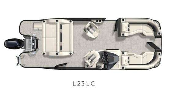 2021 Barletta boat for sale, model of the boat is L-Class L23UC & Image # 3 of 20