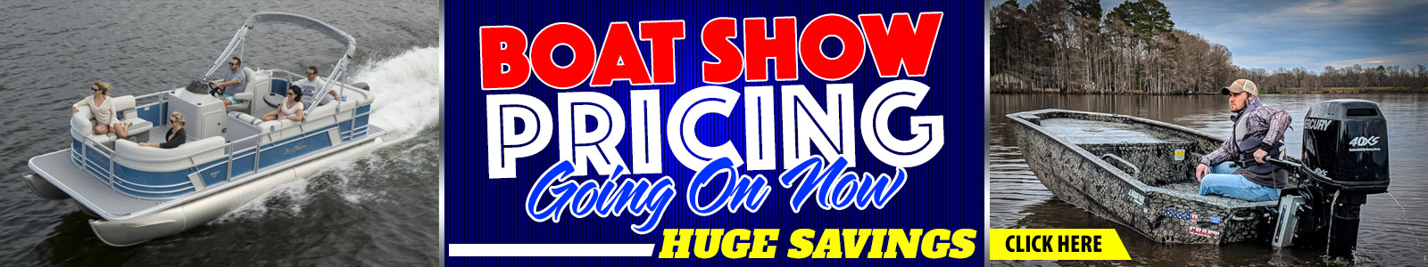 Boat Show Pricing