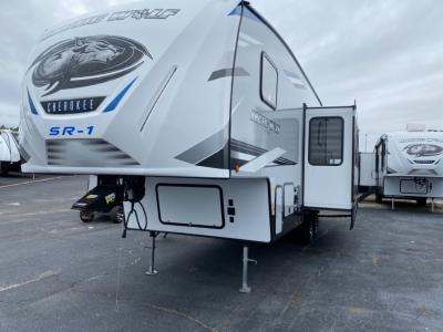 New 2021 Forest River RV Cherokee Arctic Wolf 287BHSR-1