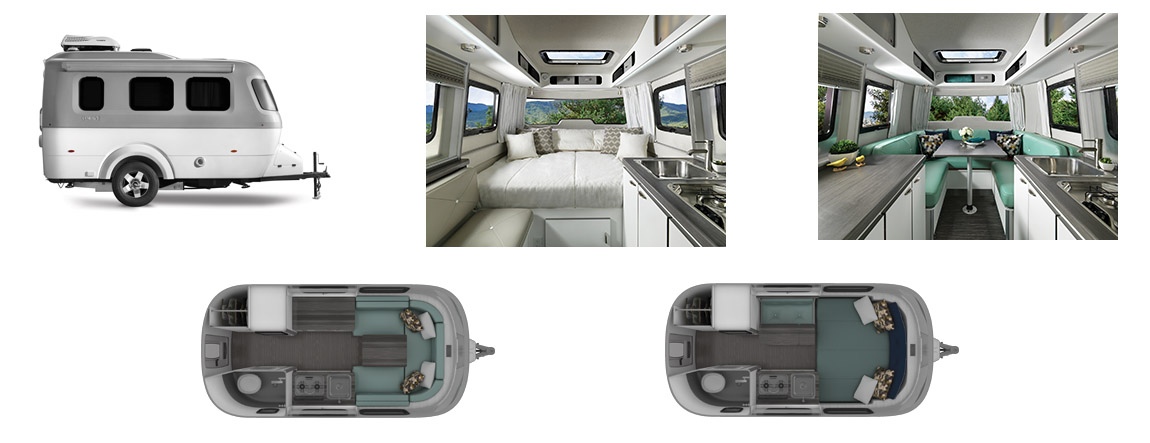 Airstream Nest Travel Trailers