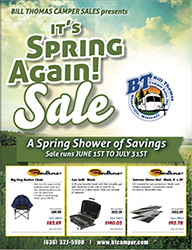 Spring RV Parts Sale Catalog