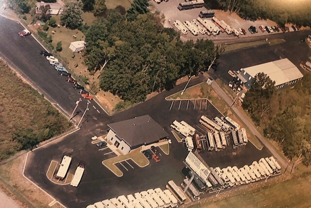 Aerial View of Buddy Gregg RV