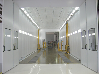 RV Paint Booth