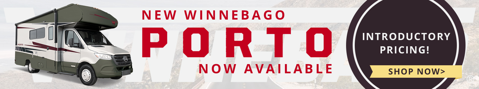 Winnebago Porto Now Available