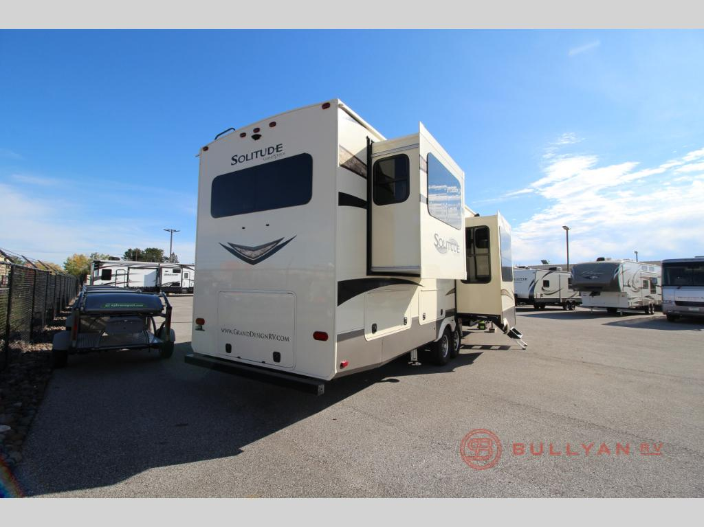 New 2018 Grand Design Solitude 375res Fifth Wheel At