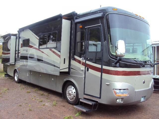 Cab Duluth Mn >> Used 2008 Holiday Rambler Ambassador 38 PDQ For Sale | #S18591