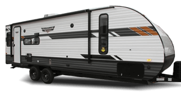 24 RLXL Forest River Wildwood Travel Trailer Exterior
