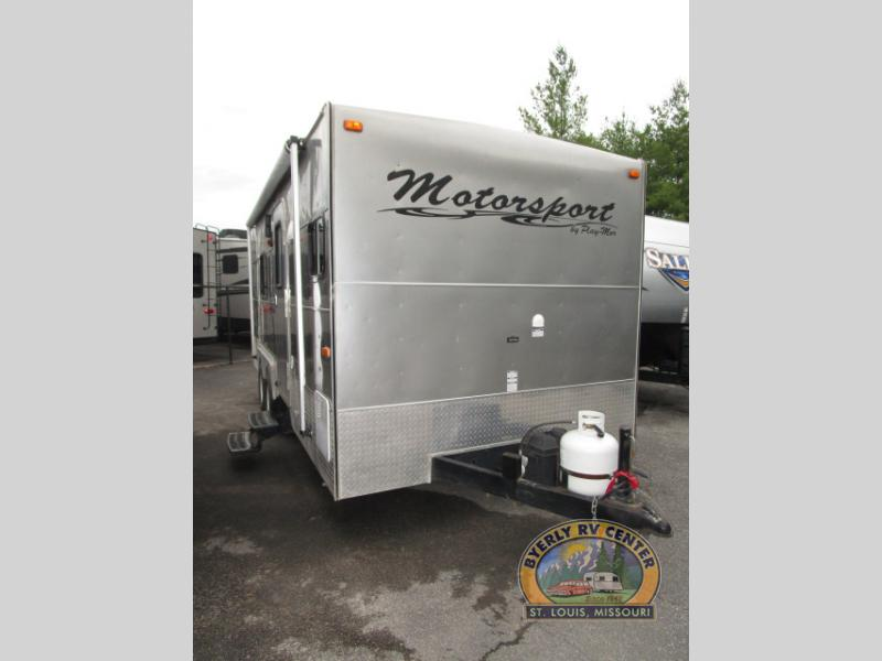 Used 2013 Play-Mor Motorsports 8187S Toy Hauler Travel