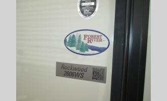 New 2020 Forest River RV Rockwood Ultra Lite 2606WS Photo