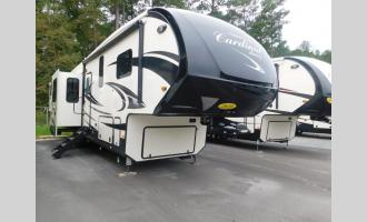 New 2020 Forest River RV Cardinal Luxury 3950TZX Photo