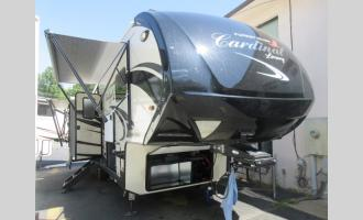 New 2020 Forest River RV Cardinal Luxury 3350RLX Photo