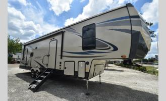 New 2021 Forest River RV Sandpiper C-Class 3330BH Photo