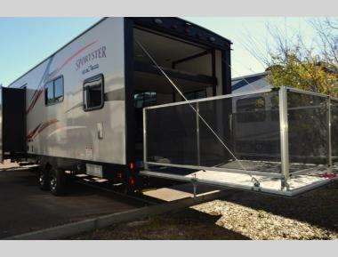 New 2019 KZ Sportster 301THR Toy Hauler Travel Trailer RV For Sale (1)