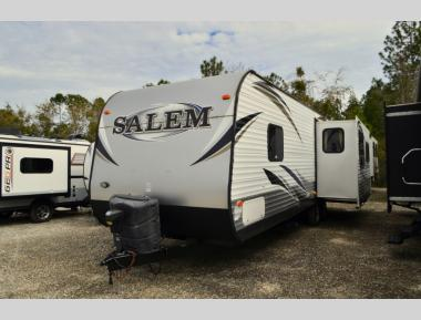 Used 2014 Forest River Salem 27RLSS Travel Trailer RV For Sale (1)