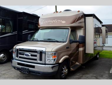Used 2010 Forest River Lexington GTS Class C Motor Home RV For Sale 0001