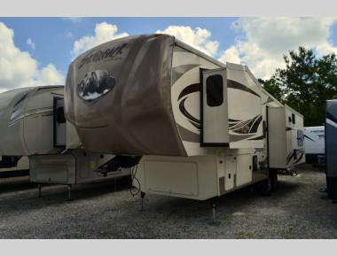 Used 2016 Forest River Cedar Creek Silverback 29IK Fifth Wheel RV For Sale (1)