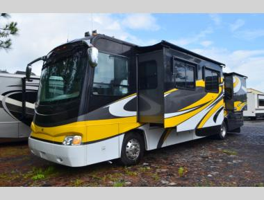 Used Diesel Pusher 2007 Coachmen Sportscoach Legend 40QS2 Class A Motorhome RV For Sale (1)