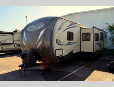 Used 2014 Forest River Salem Hemisphere Lite 300BH Travel Trailer RV For Sale (1)