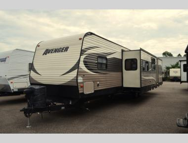 Used 2015 Forest River Avenger Touring Edition 32BIT Travel Trailer RV For Sale (1)