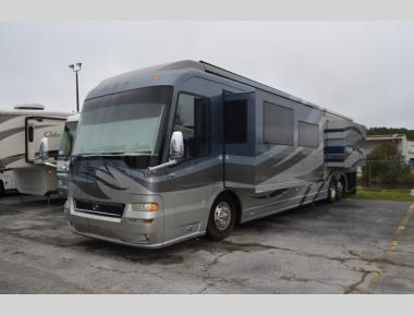 Used 2007 Country Coach Affinity 700 Custom Class A Diesel Pusher Motor Home RV For Sale (1)
