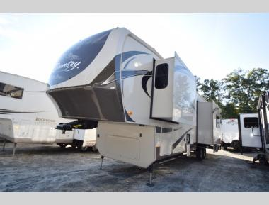 used fifth wheels rear kitchen rh campersinn com