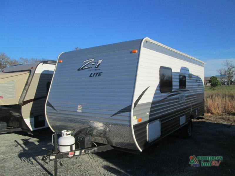 Used 2016 Crossroads Rv Zinger Z 1 18rb Travel Trailer At