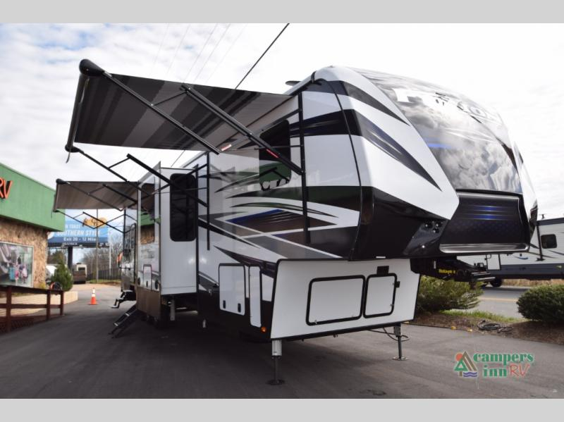 New 2019 Keystone RV Fuzion 429 Toy Hauler Fifth Wheel at