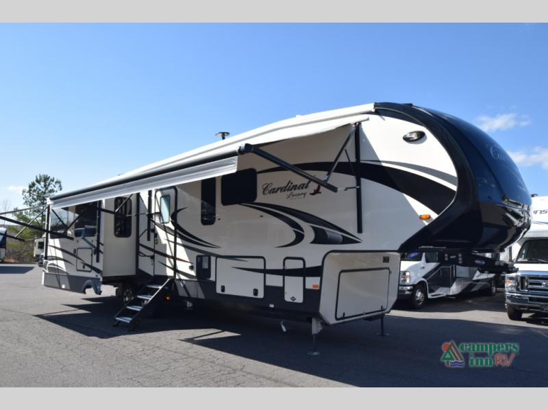 New 2019 Forest River RV Cardinal Luxury 3930FBX Fifth Wheel