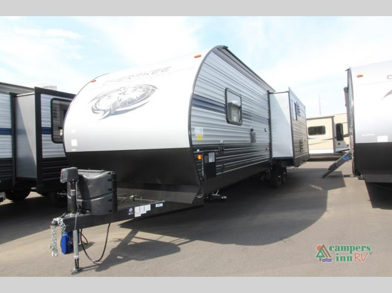 New 2019 Forest River Rv Cherokee 274wk Travel Trailer At