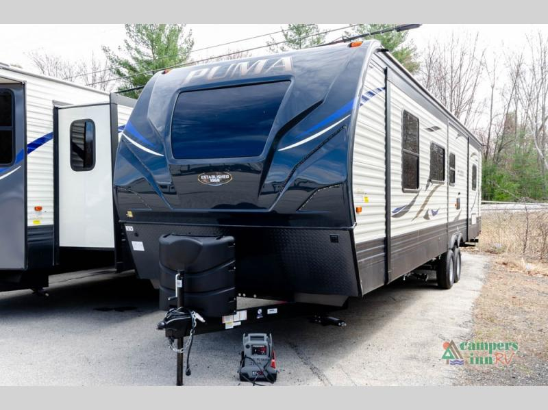 New 2020 Palomino Puma 31 Fkrk Travel Trailer At Campers