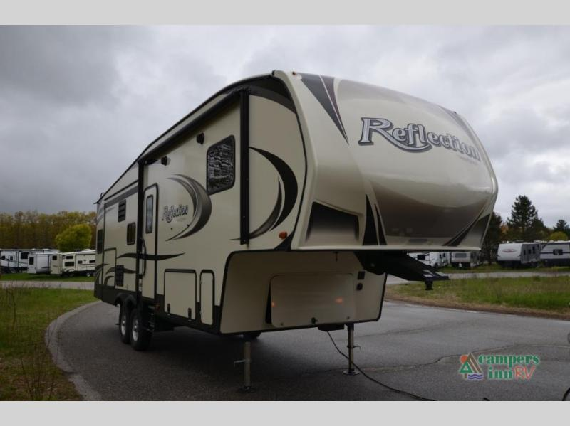2020 Grand Design RV reflection