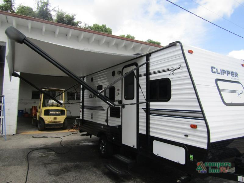 Used 2018 Clipper 17bh Travel Trailer At Campers Inn