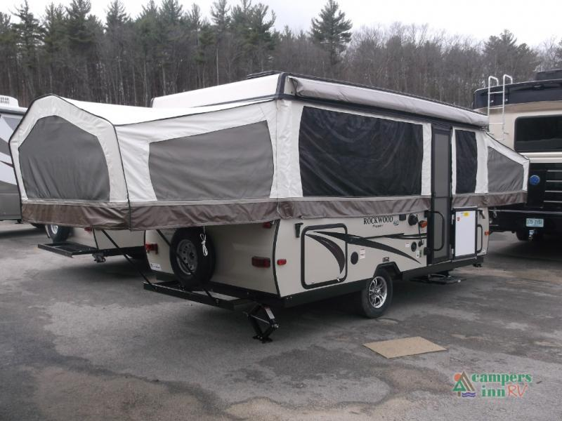 New 2017 Forest River RV Rockwood Premier 2716G Folding Pop