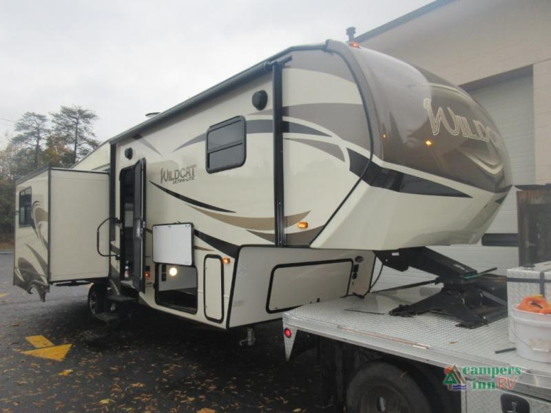 New 2018 Forest River Rv Wildcat 30gt Fifth Wheel At