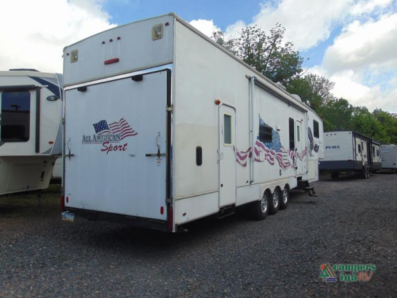 Used 2007 Forest River Rv All American Sport 375ckds Toy
