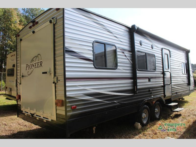 Used 2018 Heartland Pioneer Rg26 Toy Hauler Travel Trailer