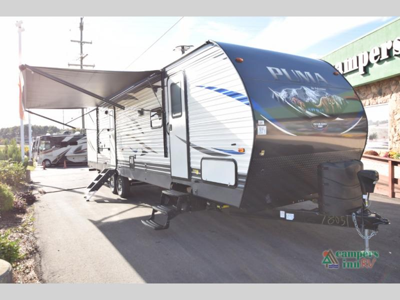 New 2019 Palomino Puma 31-QBBH Travel Trailer at Campers Inn