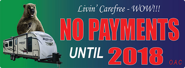 No Payments Until 2018!