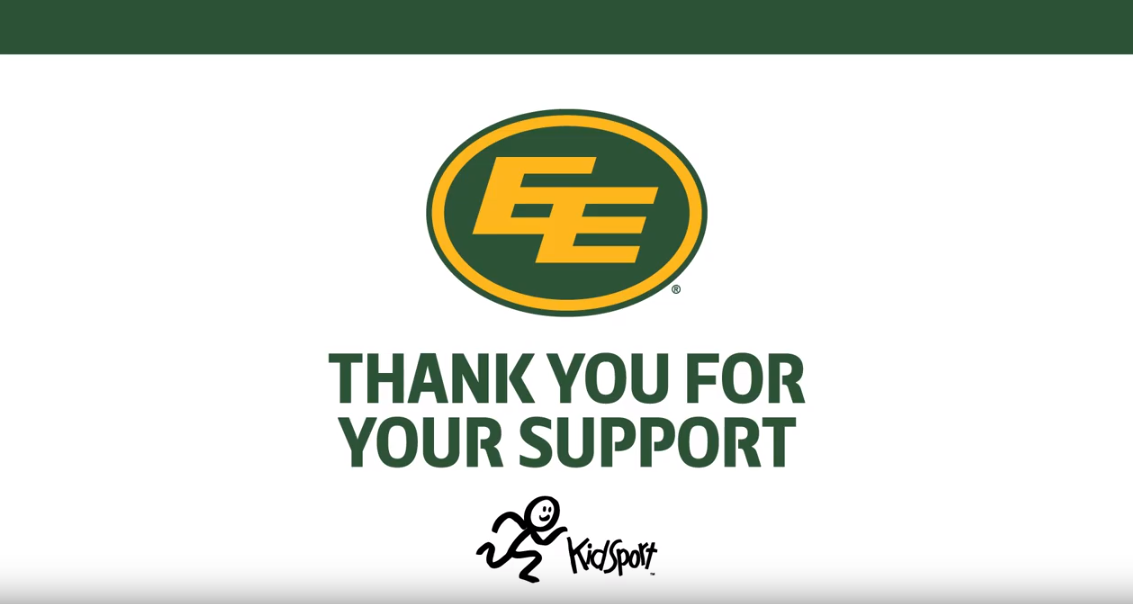 Giving Back to Kids Sport with the Edmonton Eskimos