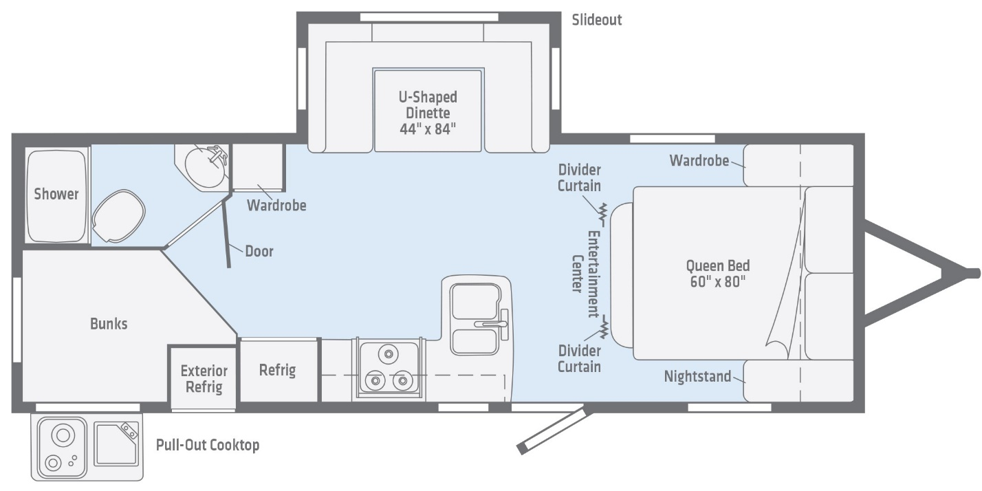 Bunkhouse Floorplan