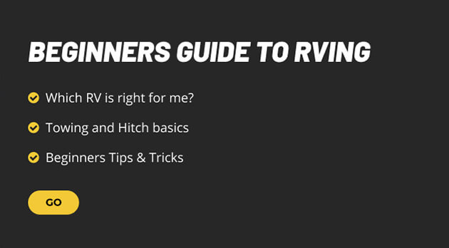 Beginners Guide to Rving