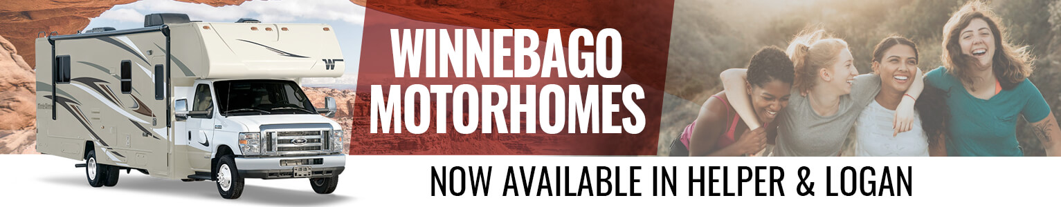 Winnebagos now available in Helper