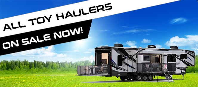Toy Hauler Sale