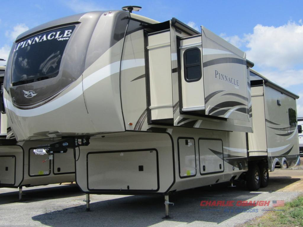 New 2018 Jayco Pinnacle 36SSWS Fifth Wheel at Charlie Obaugh
