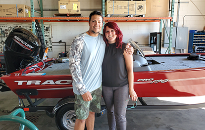 Tracker Boats wins over another customer